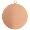 Metal Blank 24ga Copper Round 25mm With Hole